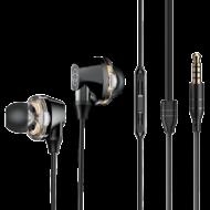 Baseus Encok H10 Dual Moving-Coil vezetékes fülhallgató, headset, vezérlővel