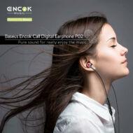 Baseus Encok P02 vezetékes fülhallgató, Lightning Call Digital