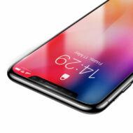 Baseus iPhone Xs Max 0.15 mm Edzett üveg kijelzővédő fólia - Átlátszó (SGAPIPH65-GS02)