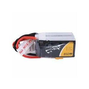 RC akkumulátor - Tattu 850mAh 14,8V 75C 4S1P XT60