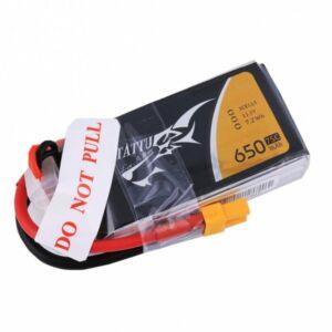 RC akkumulátor - Tattu 650mAh 11,1V 75C 3S1P