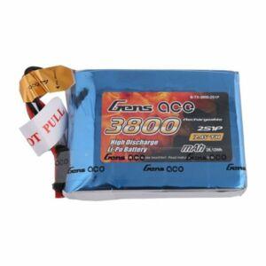 RC akkumulátor - Gens Ace 3800mAh 7.4V 1C 2S1P do Taranis Q X7