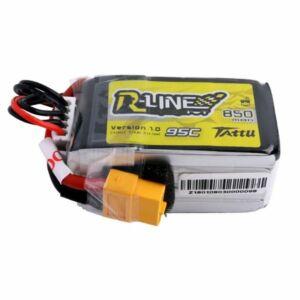 RC akkumulátor - Tattu R-Line 850mAh 14.8V 95C 4S1P