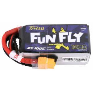 RC akkumulátor - Tattu Funfly 1300mAh 14,8V 100C 4S1P