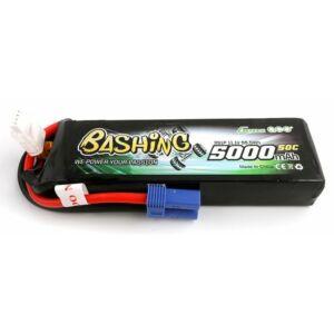 RC akkumulátor - LiPo Gens Ace Bashing 5000mAh 11,1V 3S1P 50C EC5
