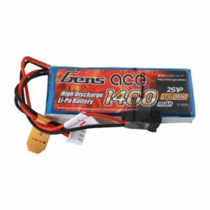 RC akkumulátor - Gens Ace 1400mAh 7,4V 1C 2S1P / H501S