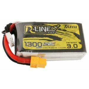 RC akkumulátor - Tattu R-Line Version 3.0 1300mAh 14,8V 120C 4S1P XT60