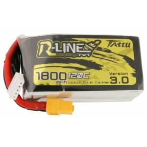 RC akkumulátor - Tattu R-Line Version 3.0 1800mAh 14,8V 120C 4S1P XT60
