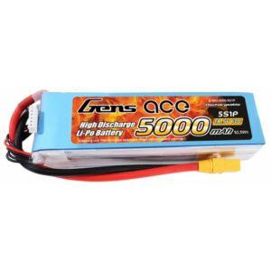 RC akkumulátor - Gens Ace 5000mAh 18.5V 60C 5S1P