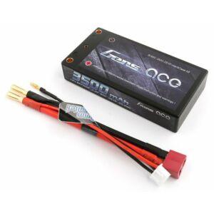 RC akkumulátor - Gens Ace 3500mAh 7,4V 60C 2S1P (kemény tok) T-Dean + XHR