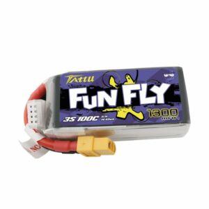 RC akkumulátor - Tattu Funfly 1300mAh 11,1V 100C 3S1P