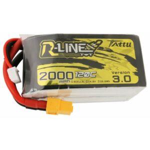 RC akkumulátor - Tattu R-Line Version 3.0 2000mAh 14,8V 120C 4S1P XT60