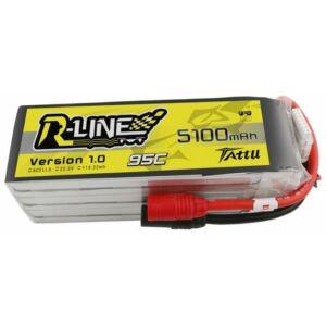 RC akkumulátor - Tattu R-Line 5100mAh 22,2V 95C 6S1P AS150