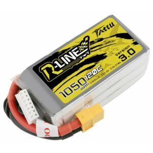 RC akkumulátor - Tattu R-Line 1050mAh 120C 22.2V 6S1P XT60