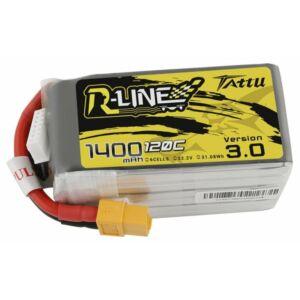 RC akkumulátor - Tattu R-Line 3.0 1400mAh 22.2V 120C 6S1P XT60