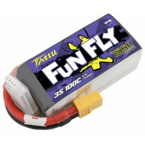 RC akkumulátor - Tattu Funfly 1550mAh 11,1V 100C 3S1P XT60