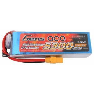 RC akkumulátor - Gens Ace 5300mAh 11.1V 30C 3S1P XT90
