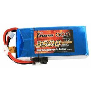 RC akkumulátor - LiPo Gens Ace 3500mAh 7,4V 1C 2S1P RX/TX