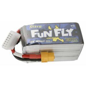 RC akkumulátor - Tattu Funfly 1300mAh 22.2V 100C 6S1P XT60