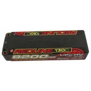 RC akkumulátor - Gens Ace Redline 8200mAh 7,6V 130C 2S1P (kemény tok) HV