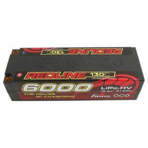 RC akkumulátor - Gens Ace Redline 6000mAh 15,2V 130C 4S1P (kemény tok) HV