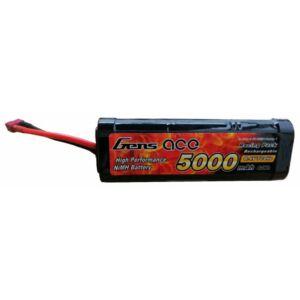 RC akkumulátor - Gens Ace Traxxas 5000mAh 8,4V NiMH Hump T-Dean