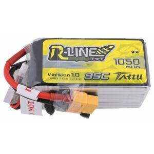 RC akkumulátor - Tattu R-Line 1050mAh 22.2V 95C 6S1P XT60
