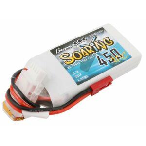 RC akkumulátor - Gens Ace Soaring 450mAh 11.1V 30C 3S1P JST-SYP