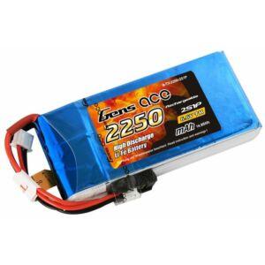 RC akkumulátor - Gens Ace 2250mAh 6.6V 2S1P Li-Fe