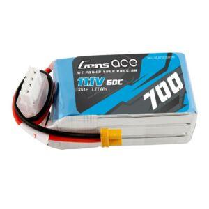 RC akkumulátor - GensAce 700mAh 11.1V 60C 3S1P XT30