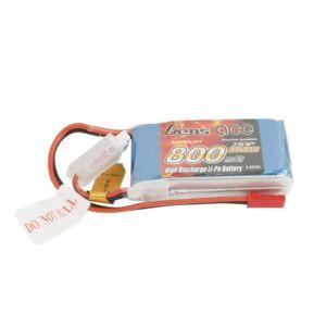RC akkumulátor - GensAce LiPo 800mAh 7.4V 45C 2S1P