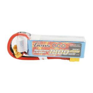 RC akkumulátor - GensAce LiPo 1800mAh 11.1V 45C 3S1P XT60
