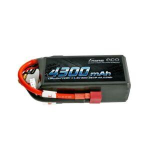 RC akkumulátor - Gens Ace 4300mAh 11.4V 50C 3S1P T-Plug
