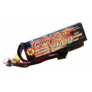 RC akkumulátor - Gens Ace 2600mAh 11,1V 1C 3S1P Futaba