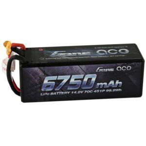 RC akkumulátor - Gens Ace 6750mAh 14.8V 70C 4S1P kemény tok