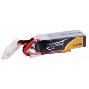 RC akkumulátor - Tattu 450mAh 14,8V 75C 4S1P hosszú