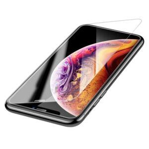Baseus iPhone Xr 0.3 mm Edzett üveg kijelzővédő - Átlátszó (SGAPIPH61-ES02)