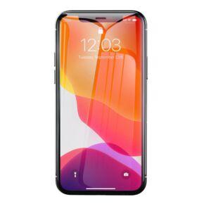 Baseus iPhone Xr 0.3 mm Edzett üveg kijelzővédő - Átlátszó (SGAPIPH61-LS02)