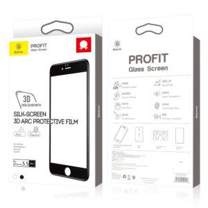 Baseus All-screen teljes képernyős 0.3mm edzett üveg iPhone 6/6S kijelzővédő fólia
