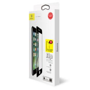 Baseus iPhone 8/7 Plus 0.3 mm Diamond Body Edzett üveg kijelzővédő fólia