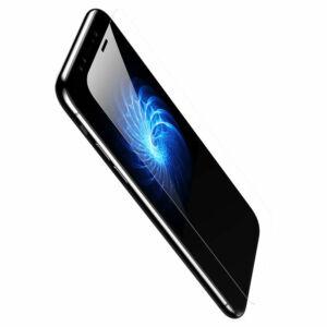 Baseus iPhone X 0.3 mm Edzett kijelzővédő üvegfólia - Átlátszó (SGAPIPHX-ESB02)
