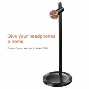 Baseus Encok DB01 fejhallgató/fülhallgató tartó állvánny - Fekete (SUDB01-01)