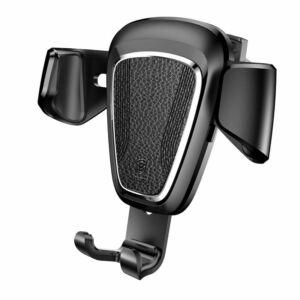 """Baseus Gravity series Metal type 4""""-6"""" Mobiltelefon autós tartó szellőzőrácshoz"""