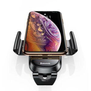 Baseus Future Gravity szellőzőrácsra illeszthető autós telefontartó