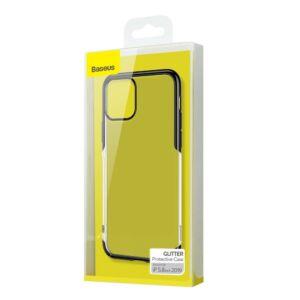 Baseus iPhone 11 Pro Glitter műanyag védőtok tok