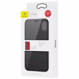 Baseus iPhone X Touchable Érintős Flip védőtok tok