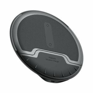 Baseus Wireless vezeték nélküli Qi töltő Multifunkcionális Összehajtható állványos 10W - Fekete (WXZD-01)