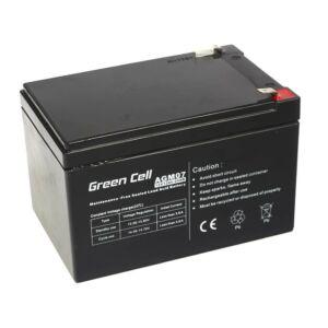 Green Cell AGM zselés akkumulátor 12V 12Ah