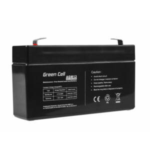 Green Cell AGM akkumulátor VRLA 6V 1.3 Ah