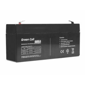 Green Cell AGM akkumulátor VRLA 6V 3.3 Ah